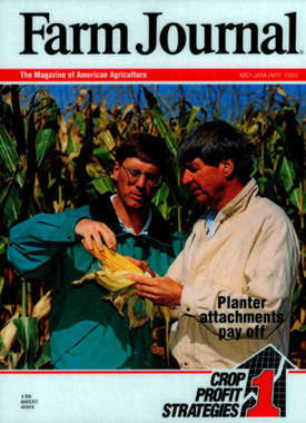 Cover of the Farm Journal magazine.